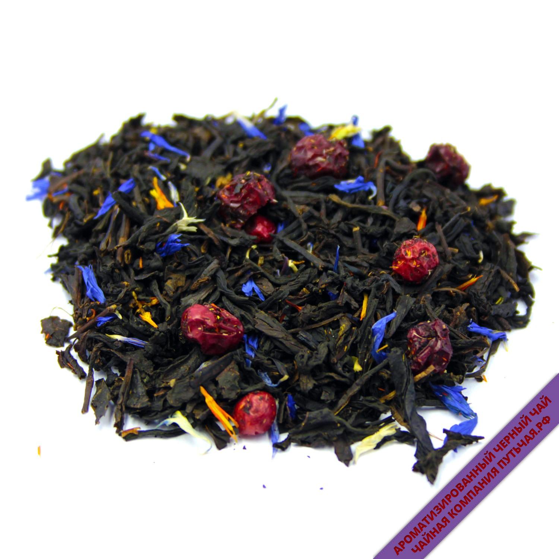 Чай монастырский черный с чабрецом и черникой 25 пакетиков
