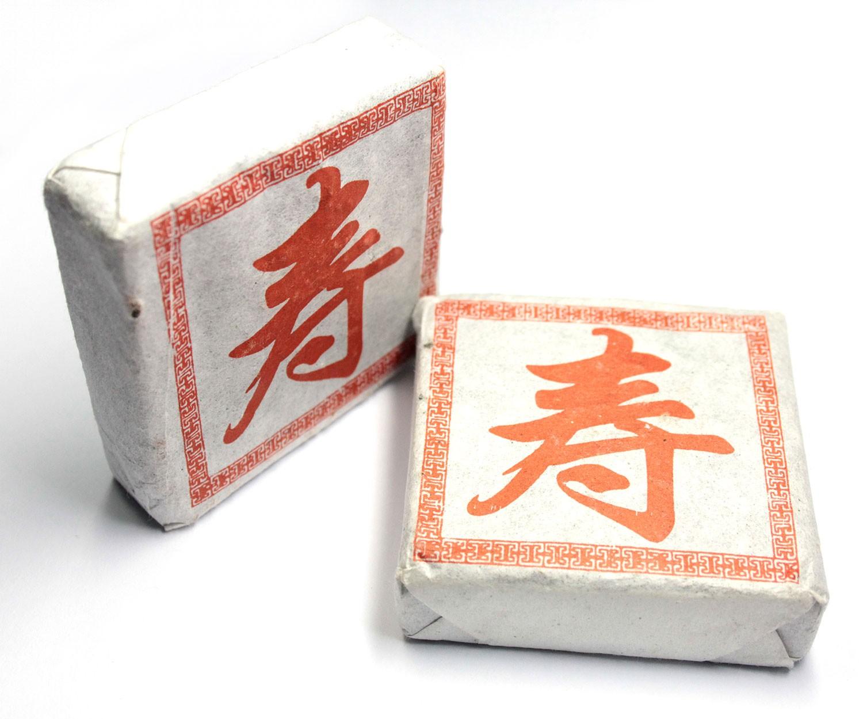 Пуэр Черный квадрат 50г Шен-1126