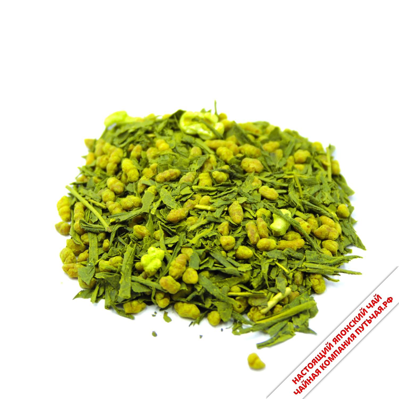 Японский чай Генмайча-3731