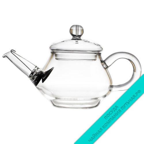 Купить чайник Пион из стекла 100 мл