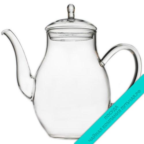 Купить чайник Семейный для заваривания 1200 мл стеклянный
