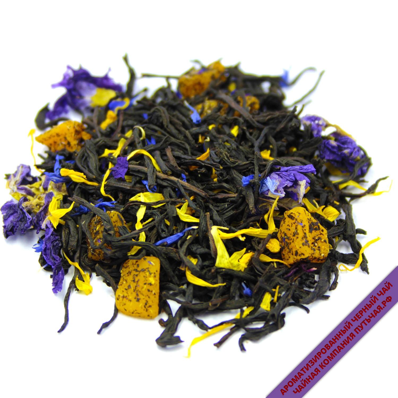 Купить ароматизированный Чёрный чай с добавками Соусеп Манго оптом и в розницу