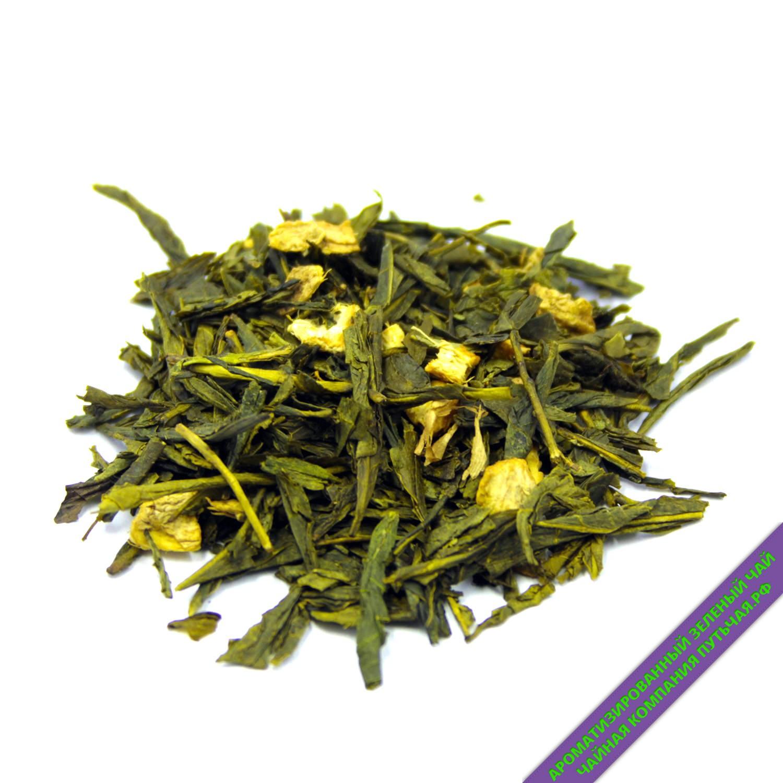 Зеленый чай с имбирем и медом-3207