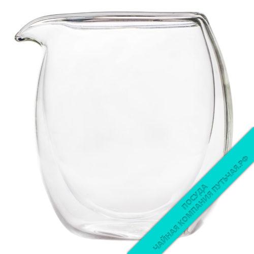Купить молочник-сливочник, Чахай 220 мл с двойными стенками