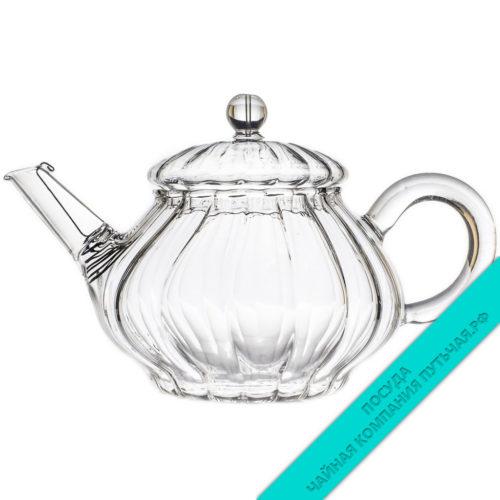 Купить заварной чайник из стекла Рефленный 250 мл