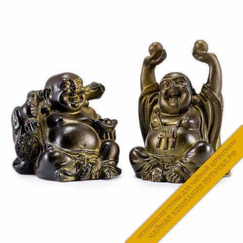 Купить чайную игрушку из глины Чайный Будда