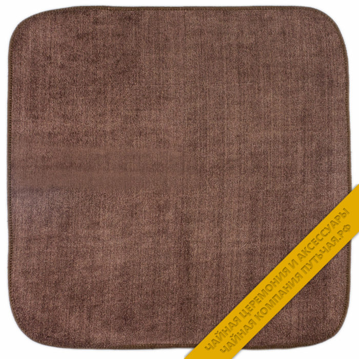 Купить полотенце коричневого цвета