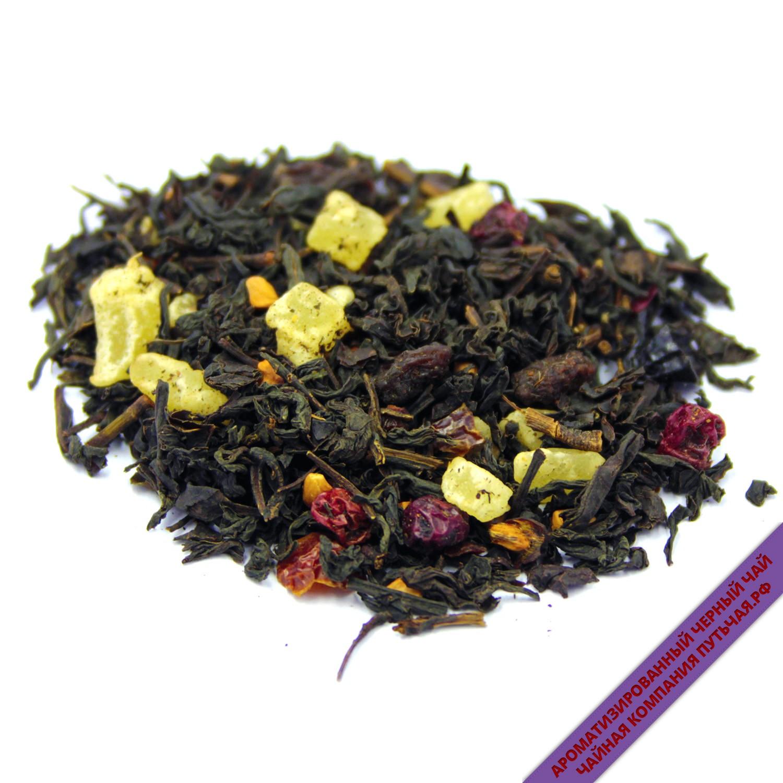 Купить Чёрный чай с добавками Спелый барбарис оптом и в розницу