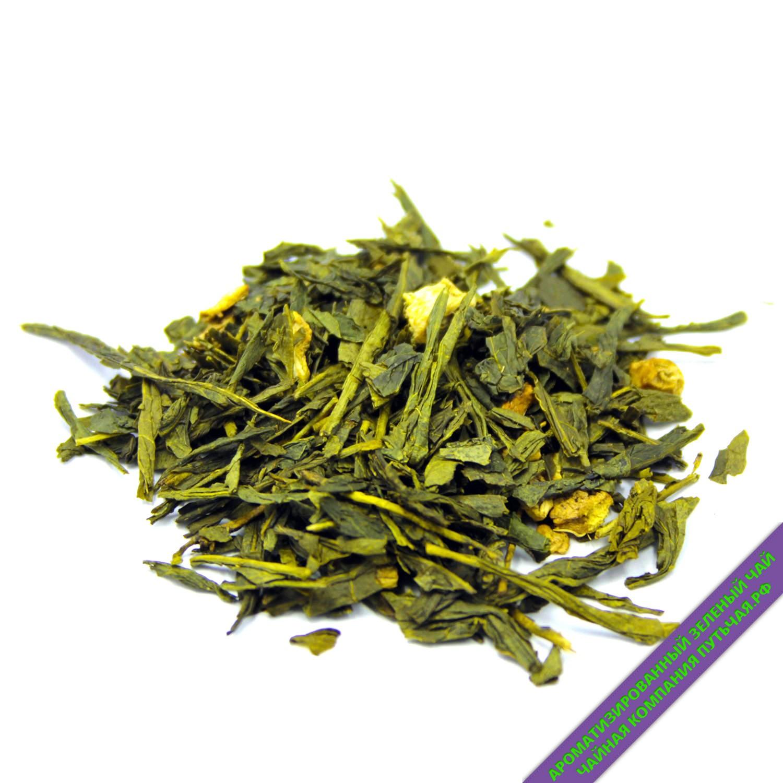 Зеленый чай с имбирем и медом-3206