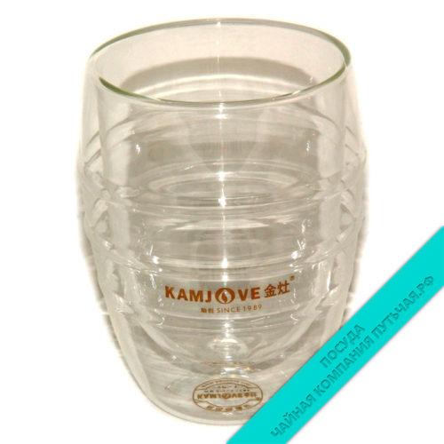 Купить Чашку не обжигающую из жаропрочного стекла 200 мл KAMJOVE