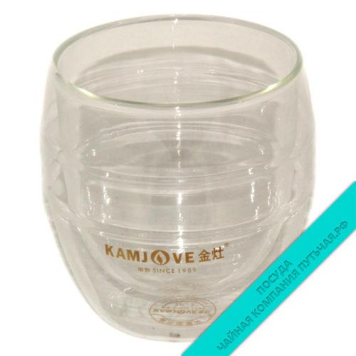 Купить Чашку не обжигающую из жаропрочного стекла 300 мл KAMJOVE