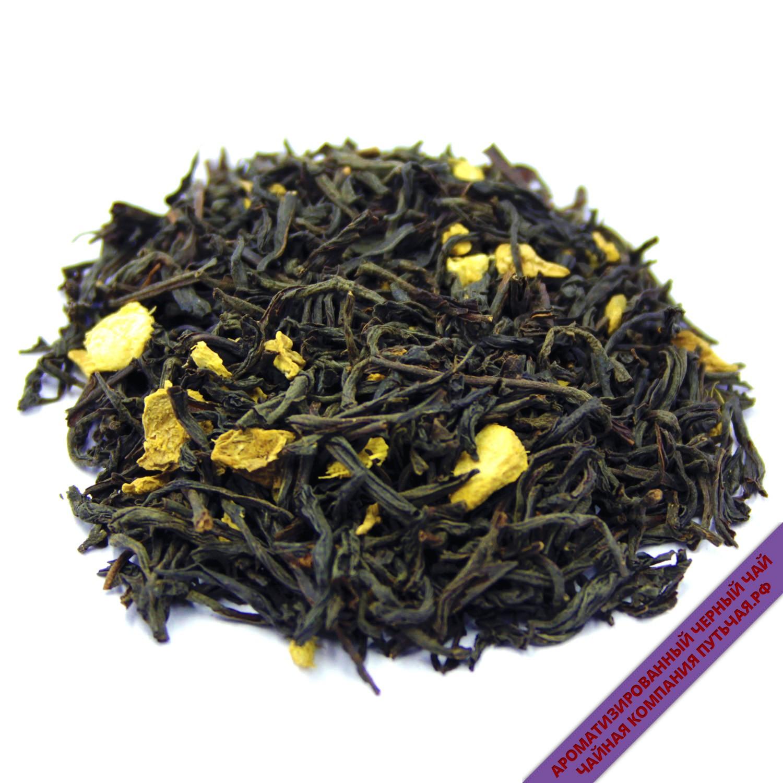 Черный чай с имбирем -2822