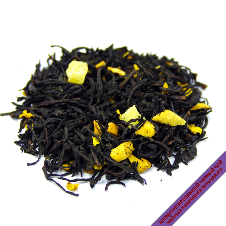 Купить ароматизированный чёрный чай с добавками Дыня со сливками оптом и в розницу