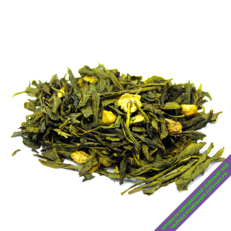 Зеленый чай с имбирем и медом