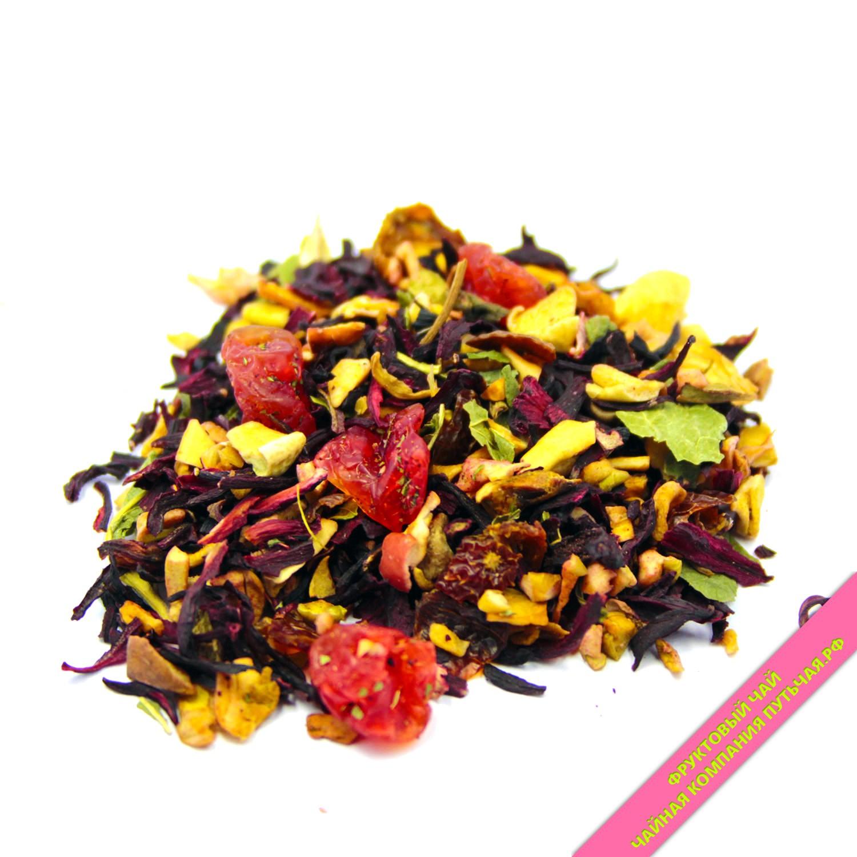 Купить вкусный ягодно фруктовый чай Вишнёвый пунш оптом и в розницу