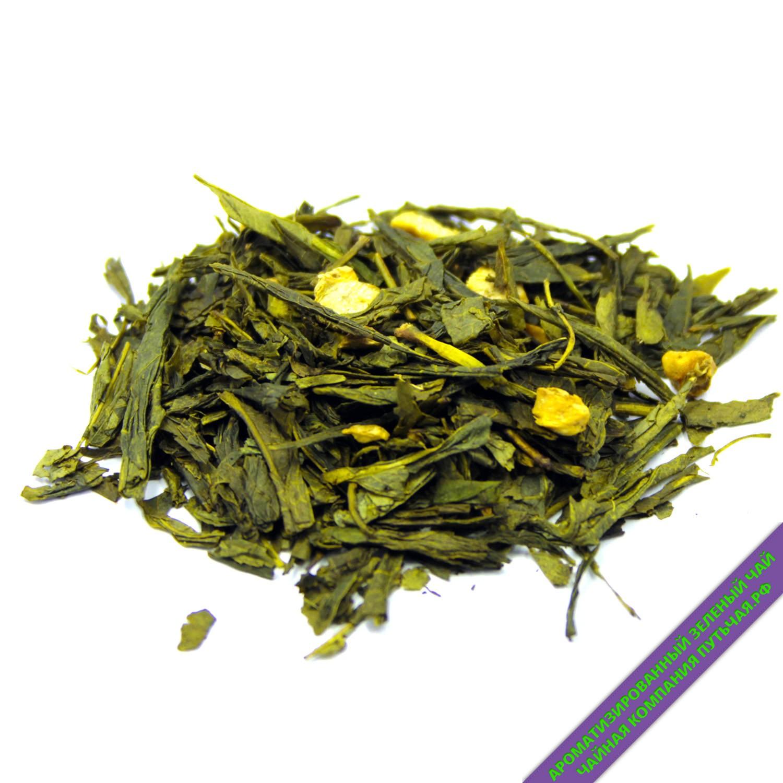 Зеленый чай с имбирем и медом-3209