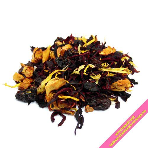 Купить Фруктовый ягодный чай с добавками Дикий персик оптом и в розницу в интернет магазине: низкая цена, доставка