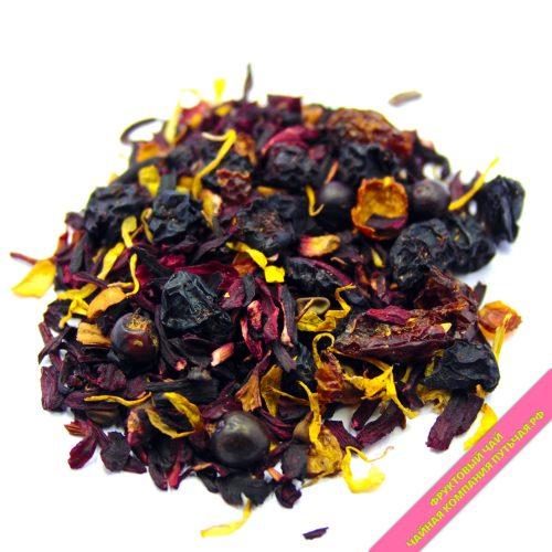 Купить вкусный фруктово ягодный чай Красный Сарафан оптом и в розницу