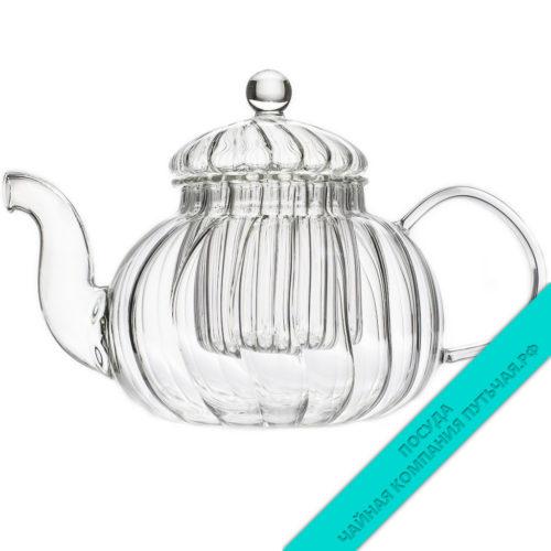 Купить чайник из стекла Лилия для заварки чая 600 мл