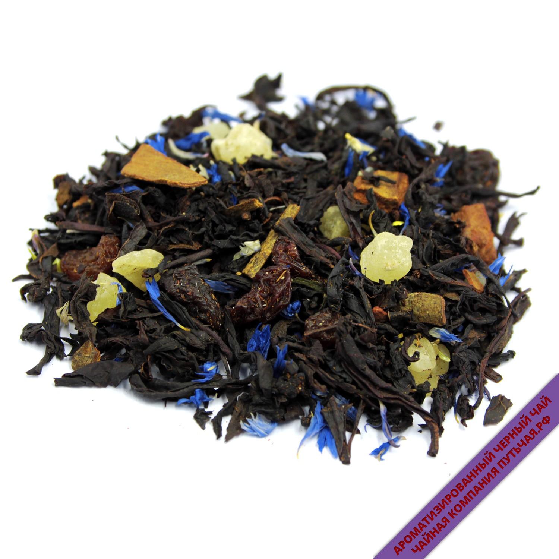 Купить ароматизированный Черный чай с добавками С корицей оптом и в розницу в интернет магазине: низкая цена, доставка