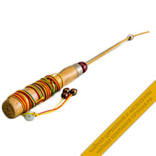 Купить Шило для колки пуэра с деревянной ручкой и украшениями