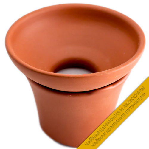 Купить сито для заваривания чая из глины с подставкой