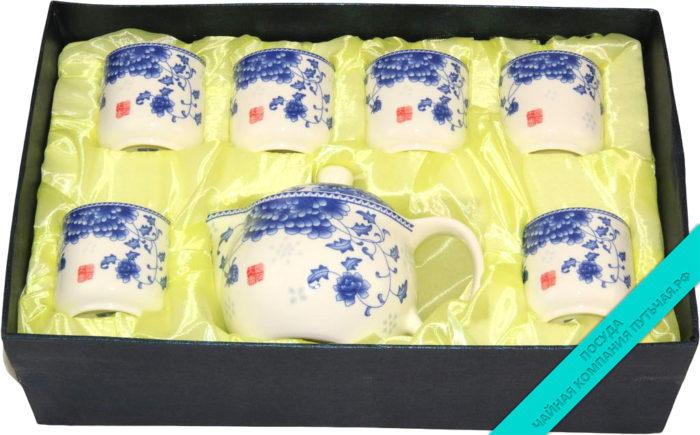 Сервиз чайный (фарфор) 6 персон-2570