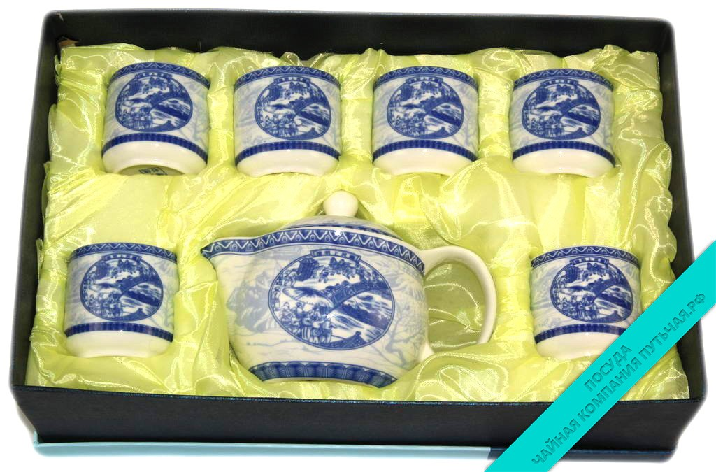 Сервиз чайный (фарфор) 6 персон-2568