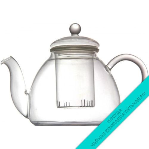 Купить заварной чайник Барон, со стеклянным фильтром 1150 мл
