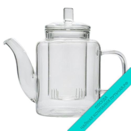 Купить заварной чайник Биг Бен, со стеклянным фильтром 400 мл