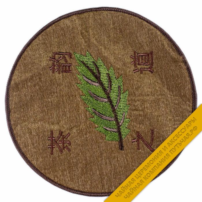 Купить Подложку под чайник Зеленый лист