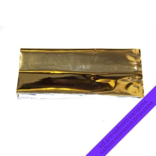 Купить металлизированные пакеты для фасовки чая 500г, размер 35*7*12 см (серебро) оптом и в розницу