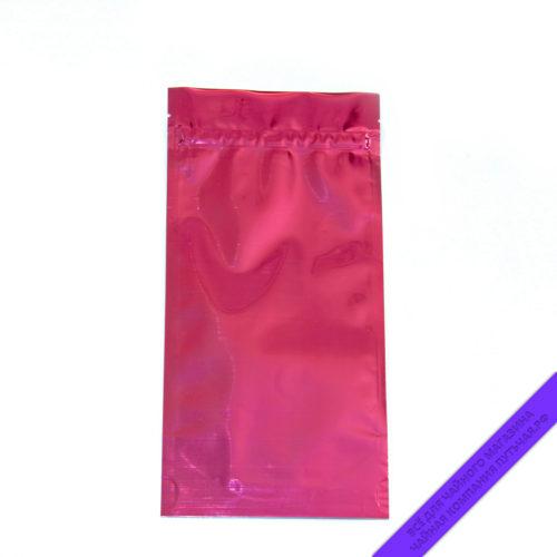 Купить Пакет для фасовки чая (с зипом) 100 г. Россия, размер 10,5*21,5 см (розовыйпрозрачныйглянец) оптом и в розницу, фото, низкая цена