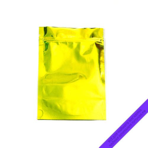 Купить Пакет для фасовки чая (с зипом) 100 г. Россия, размер 13,5*20 см (золотоглянец) оптом и в розницу, фото, низкая цена