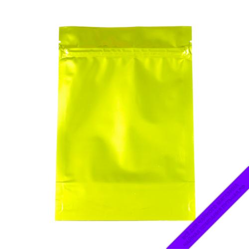 Купить Пакет для фасовки чая (с зипом) 150 г., размер 14,5*21 см (золотойпрозрачныйглянец) оптом и в розницу, фото, низкая цена