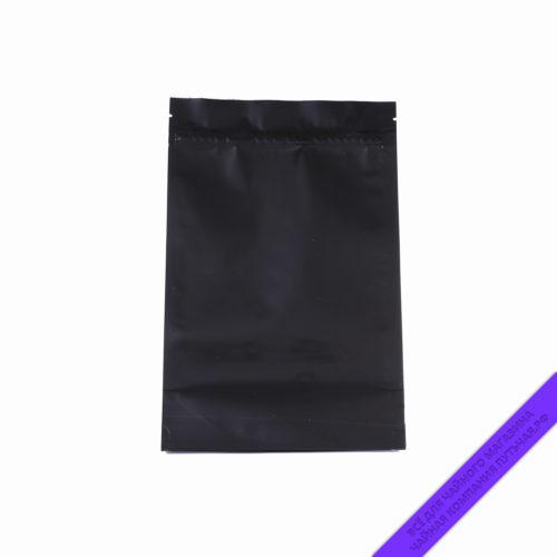 Купить Пакет для фасовки чая с зипом 250 г., размер 16*25 см (чёрныйглянцевый) оптом и в розницу, фото, низкая цена