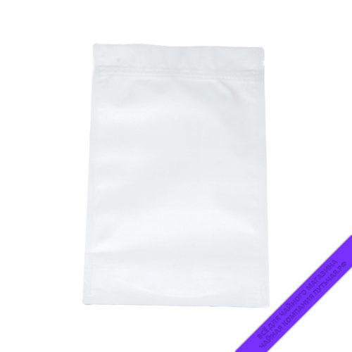 Купить Пакет для фасовки чая с зипом 250 г., размер 16*25 см (белыйматовый) оптом и в розницу, фото, низкая цена