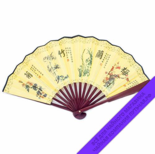 Купить Китайские веера и восточные узоры 23 см: фото, низкая цена