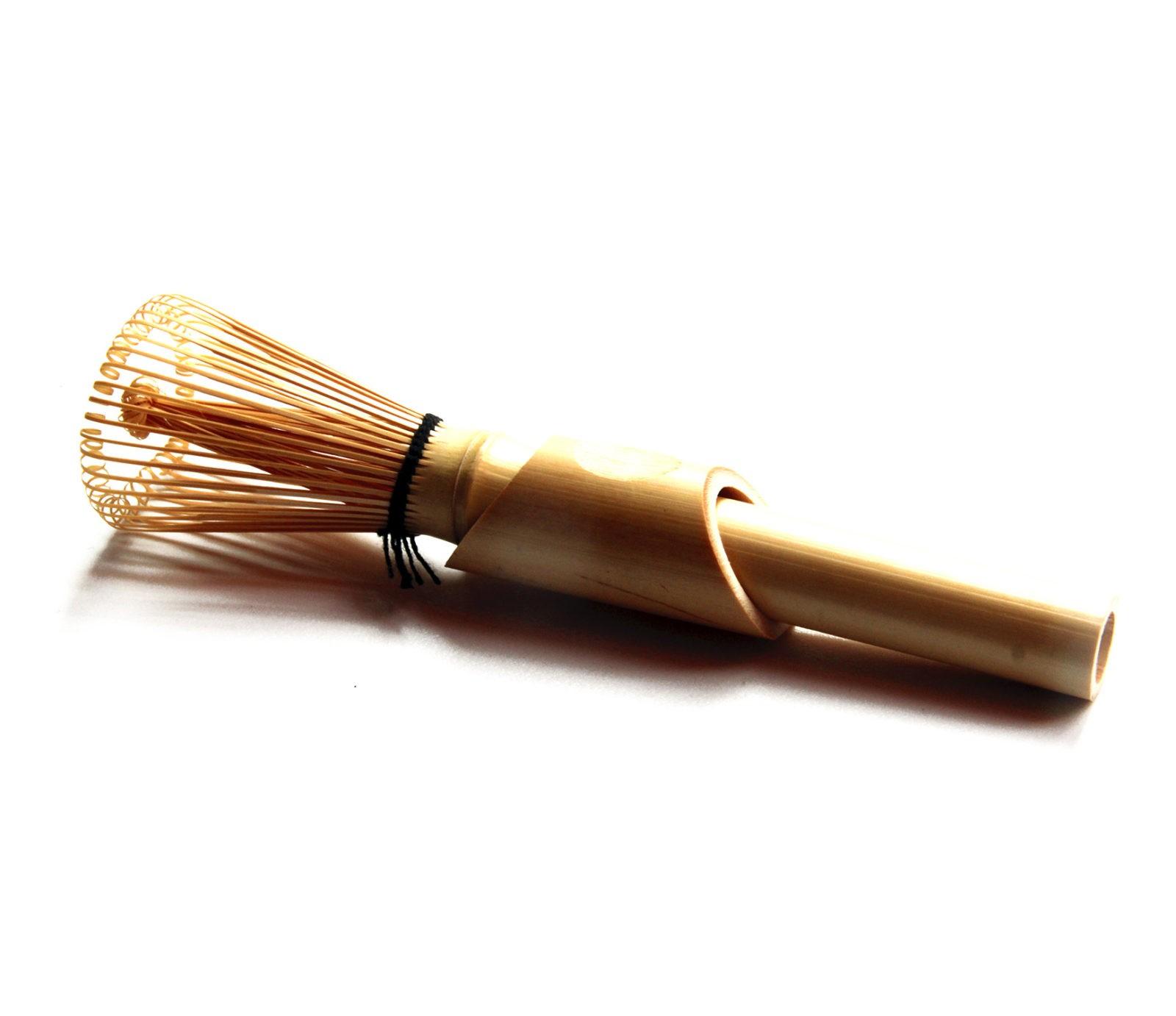 Купить бамбуковый венчик Часен для взбивания чая Матча (маття) с подставкой