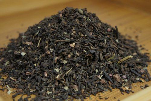 Купить настоящий китайский россыпной чай шу пуэр Земляника Со Сливками Оптом и в розницу с доставкой. Фото.