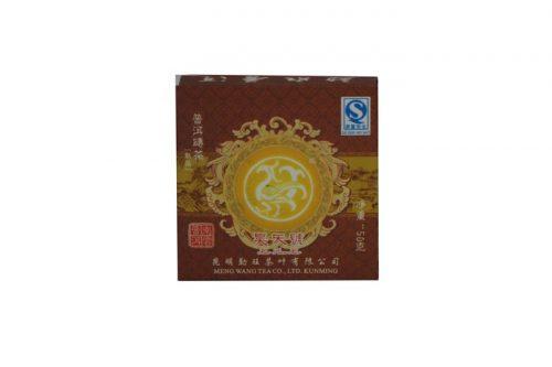 Купить настоящий китайский прессованный чай шу кирпич пуэр №555A Оптом и в розницу с доставкой. Фото.