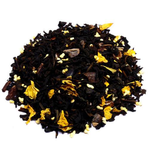 КУПИТЬ знаменитый настоящий легендарный чай чёрный с добавками Трюфель Аморант оптом и в розницу, от производителя - со склада из Москвы. Быстрая доставка по РФ. Низкая цена. Фасовка от 25 гр.