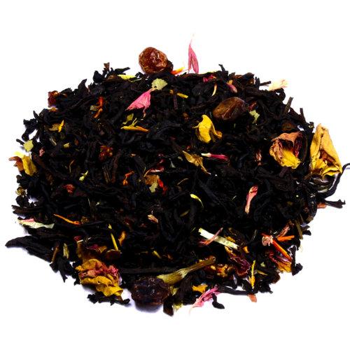 Мы предлагаем выбрав по фотографии: Купить чай Чёрный с добавками - Красная Ягода оптом и в розницу от производителя! Быстрая доставка по РФ и странам ТС.