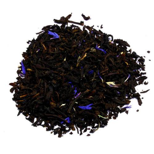 КУПИТЬ знаменитый настоящий легендарный чай чёрный с добавками Эрл Грей голубой цветок оптом и в розницу, от производителя - со склада из Москвы. Быстрая доставка по РФ. Низкая цена. Фасовка от 25 гр.